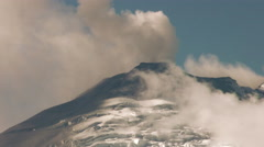 Powerful Volcanic Eruption In South America Stock Footage