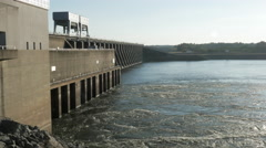 Kentucky Dam Tennessee River Land Between the Lakes Stock Footage