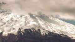 Cotopaxi Volcano Glacier Stock Footage