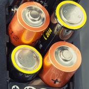 Loading batteries Stock Photos