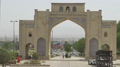 Shiraz Quran Gateway - stock footage