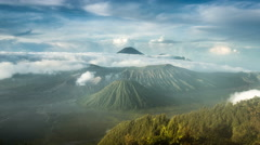 4k Time Lapse video of Mount Bromo, Indonesia Stock Footage