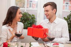 This wonderful gift is only for you - stock photo