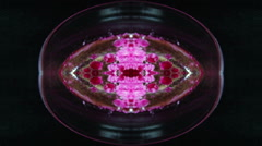 Abstract Kaleidoscope In Motion Stock Footage