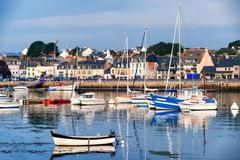 Port of Concarneau, Brittany, France Stock Photos