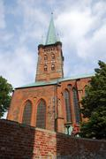 Protestant church - stock photo