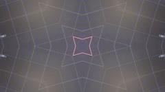 Kaleidoscope In Motion Stock Footage