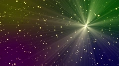 Colored Abstract Background with Particles and Lights Animation Stock Footage