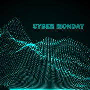 Stock Illustration of Cyber Monday Promotional Poster