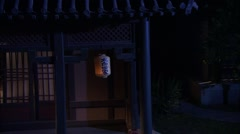 Chinese ancient dwellings  - stock footage