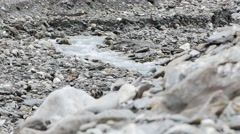 Wild River In A Mountain Valley, Grossglockner, Europe Stock Footage
