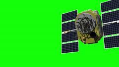 GPS satellite Stock Footage