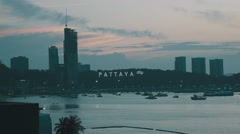 Pattaya, Thailand (Clip 19) Stock Footage