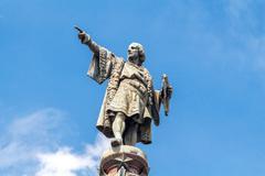 Barcelona. Monument to Christopher Columbus - stock photo
