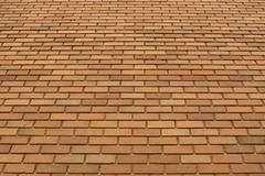 Orange Brick Wall Texture 2 - stock photo