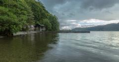 Windermere Lake Timelapse Stock Footage