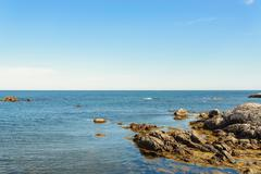 Keji Seaside coast Stock Photos
