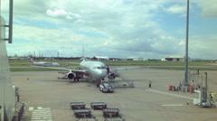 Brisbane Airport Australia Timelapse Stock Footage