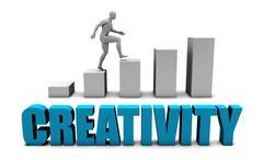 Creativity - stock illustration