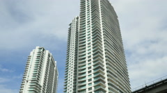 Centre Brickell Miami Stock Footage