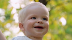 Adorable Baby Stock Footage