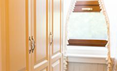 Wooden cupboard Stock Photos