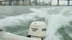 Evinrude 150 outboard Stock Footage