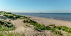 Sandbank Beach Timelapse Stock Footage