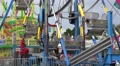 Close Up Ferris Wheel At Carnival Footage