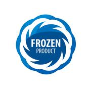 Stock Illustration of logo for frozen products