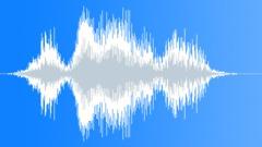 Beast die whirr hiss Sound Effect