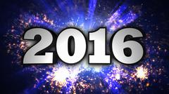 2016, New Year's Eve, Disco Dance Style Stock Illustration