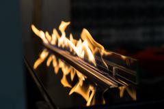 Exciting flame - stock photo