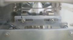 Industrial packaging machine Stock Footage
