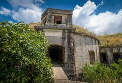 Thurmfort Gorazda fortress main gate - stock photo