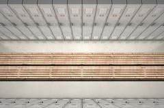 Gym Locker Row New - stock illustration
