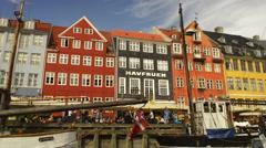 Beautiful Copenhagen Stock Footage