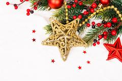 Christmas Decoration. Holiday Decorations Stock Photos