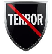War on Terror Shield Symbol Stock Illustration