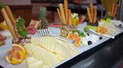Catering Buffet Food in a Luxury Restaurant - stock photo