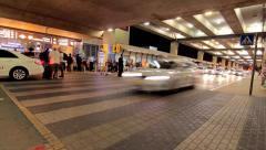 Airport timelapse 2_ben gurion airport_tel aviv_israel Stock Footage