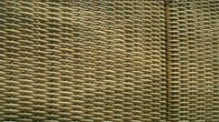 Netted furnitures on display inside the expo Stock Footage