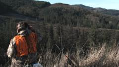 Pacific Northwest Hunter 2 Stock Footage
