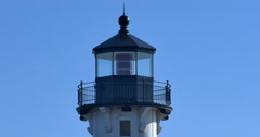 Duluth Harbor Lighthouse Stock Footage