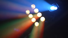 Show light spot slow motion Stock Footage