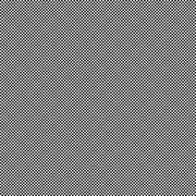 Black & white 32cm half-tone seamless pattern Stock Illustration