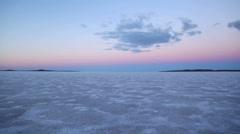 Salt Lake Tracking - stock footage