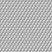 Silver crystal sequins in a seamless pattern - stock illustration