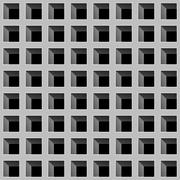 Stock Illustration of Silver square mesh in a seamless pattern