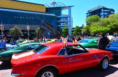 US muscle cars V8 car show Kuvituskuvat